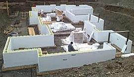 The perfect prepper house part 3 for Foam block concrete forms